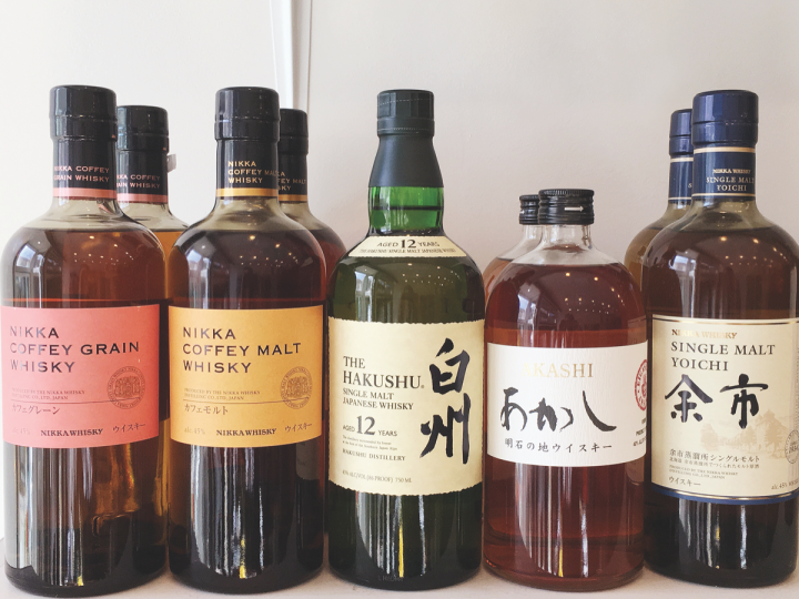 Consumers strongly associate Japanese whisky with quality and luxury, which has made the high-priced category a compelling option in the off-premise. At Chicago spirits shop Ezra's, Japanese whiskies (the store's selection above) range from around $60 to over $300.