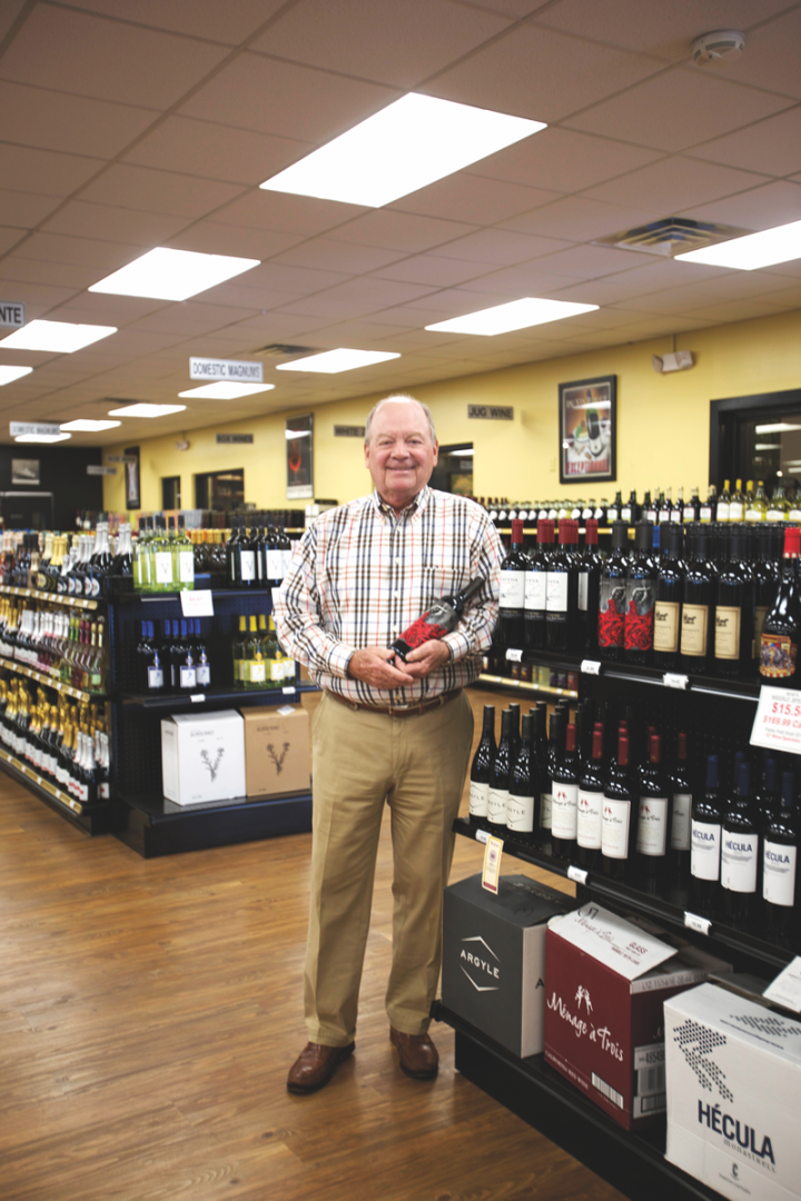 Robert Gilbertson of Bob's Liquor & Wine in Knoxville says that his wine sales have gone down significantly since the law came into effect, and adding more beer and mixers hasn't made up the difference.