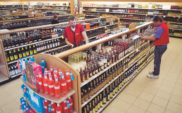 In 2016, North Carolina (ABC store pictured) surpassed $1 billion in spirits sales for the first time, as consumers shift towards trading-up.