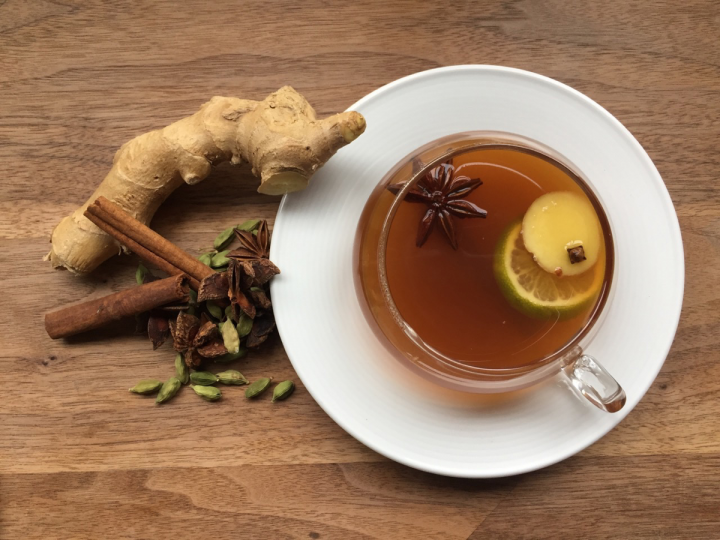 Chai flavors can add complexity and flavor to cocktails. Minneapolis' Spoon and Stable makes a Dark and Stormy variant (above) using rum, amaro, ginger chai and ginger syrup.