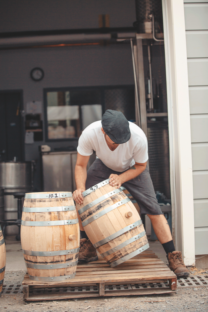 William Grant & Sons purchased Tuthilltown Spirits in its entirety this year (Hudson whiskey barrels pictured).