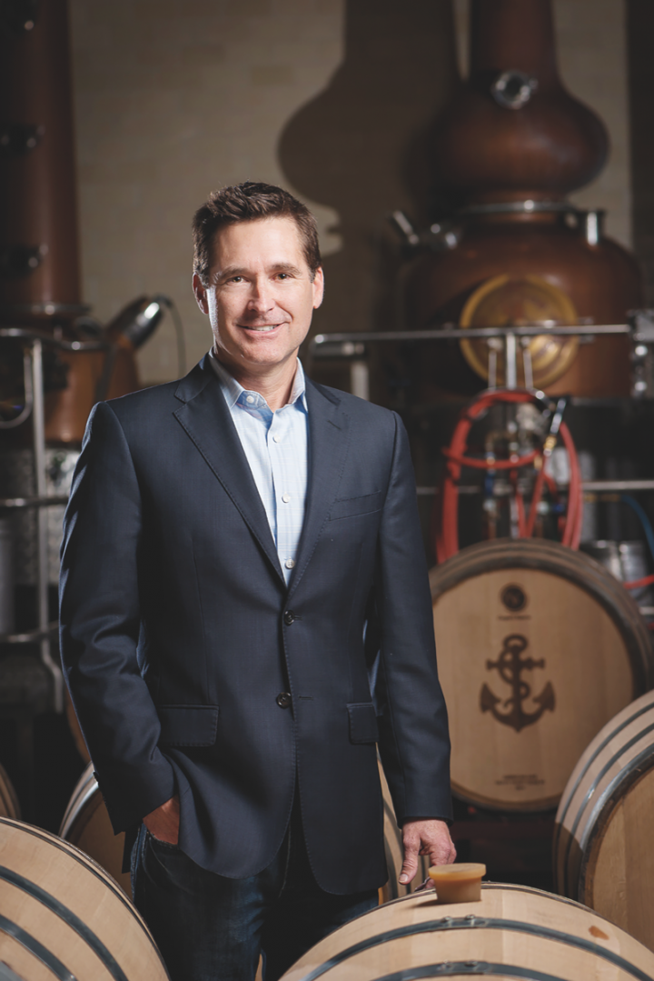 Dennis Carr (pictured), CEO of Anchor Distilling, predicts market overcrowding.