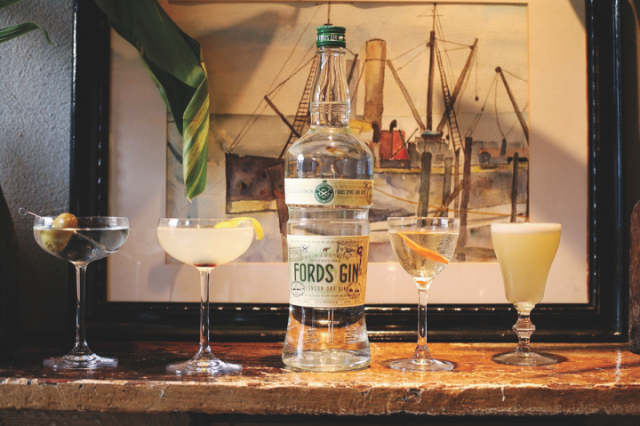 Park Street works with beverage companies of all sizes, from newly established start-ups to quickly growing brands like The 86 Co.'s Fords gin (pictured).