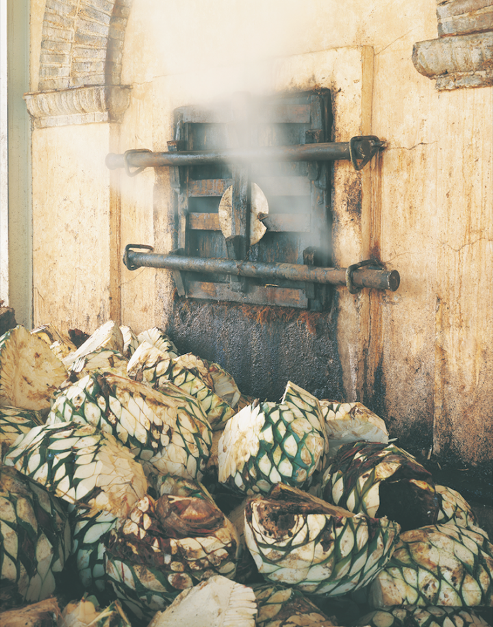 Herradura (agave ovens pictured) was an early mover in aged Tequilas, pioneering the Extra Añejo classification with its Seleccion Suprema label.