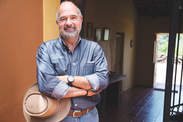 Don Julio master distiller Enrique de Colsa (pictured) created the first Cristalino Tequila expression in 2011.