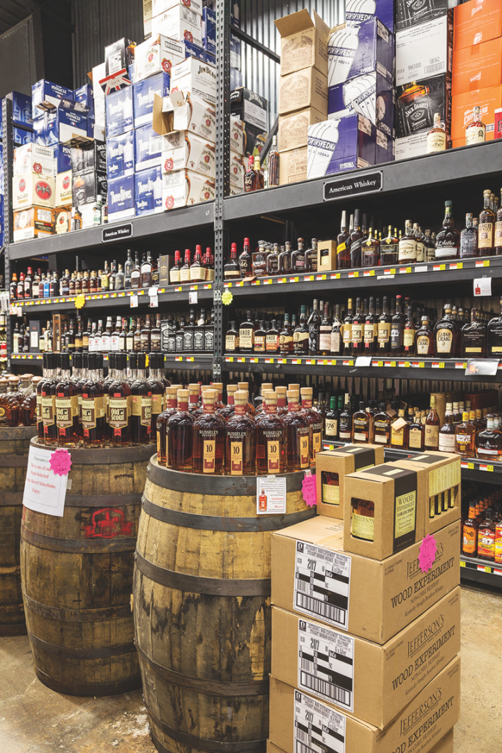 Acquistapace's in New Orleans routinely stocks around two dozen exclusive-barrel selections at a time, led overwhelmingly by Bourbon.