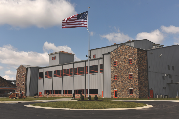 New Bourbon distilleries from established brands are coming online. Diageo debuted Bulleit's $115 million distillery (pictured) in Shelbyville, Kentucky, in March.