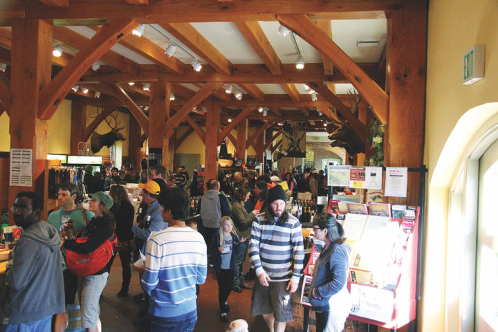 Stone Hill (winery Oktoberfest event pictured) wines are offered at big box chains like Walmart and Costco.