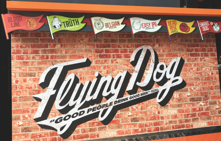 Flying Dog Brewery serves as the hometown craft brew for Baltimore Orioles fans. The brewery's Orange Bar at Camden Yards has been at the park for roughly five years.
