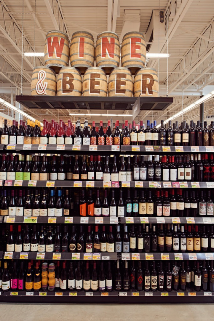 Two H-E-Bs in San Antonio and New Braunfels are among the top-selling beer stores within the company, with each stocking around 950 SKUs (San Antonio beer selection pictured).