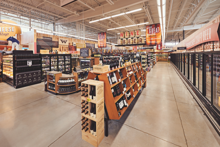 H-E-B's wine offerings vary from store to store depending on local interest.
