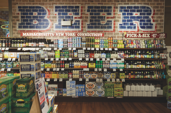 In Stew Leonard's beer section, local brands and special releases perform especially well.