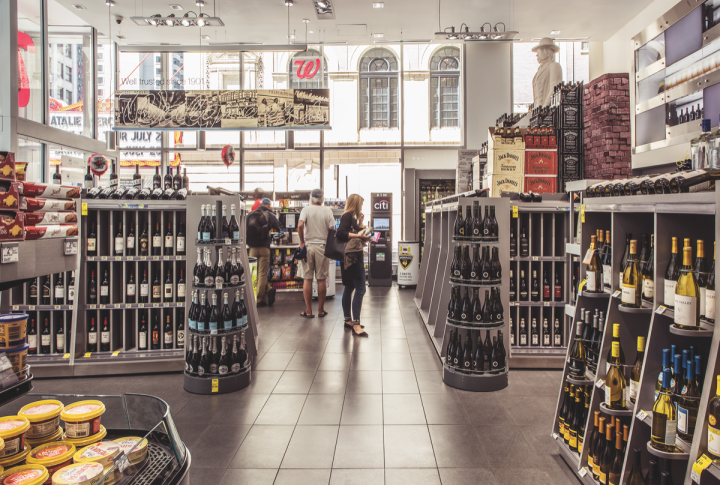 Wine accounts for 30 percent of sales at Walgreens.