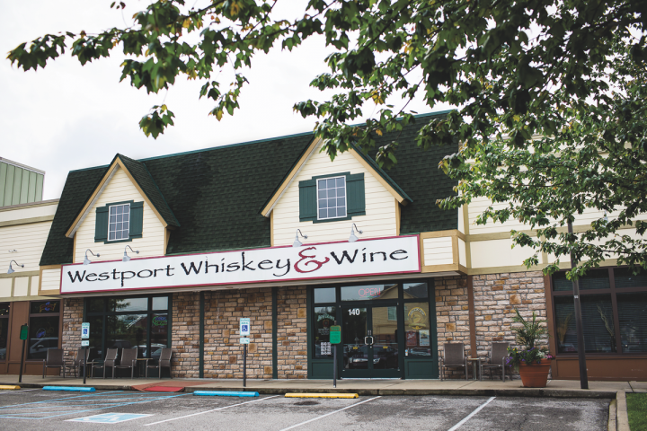 Westport's 3,800-square-foot space includes a renovated tasting room that features more than 240 whiskies, many of which are highly allocated.
