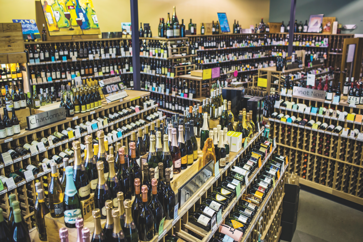 Westport selects wines from all over the world, and wine accounts for 40-percent of sales at the store.