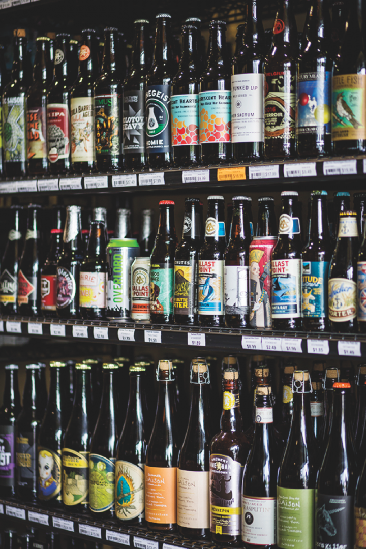Westport's beer offerings are almost exclusively from local craft brewers.