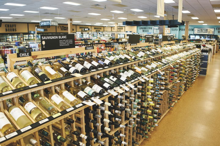 White Horse offers approximately 3,500 wine SKUs from around the globe, most of which are organized by flavor profile.