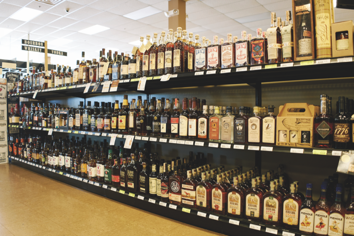 White Horse stocks roughly 2,200 spirits, ranging from Seagram's vodka to Rémy Martin Cognac.