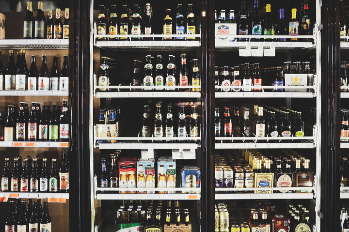 Beer accounts for just 1 percent of sales at The Wine House, though there is a wide selection of craft, local, mainstream domestic and imported beers offered.