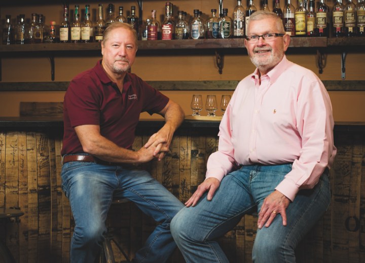 At Westport Whiskey & Wine in Louisville, Kentucky, co-owners Richard Splan (left) and Chris Zaborowski (right) have combated competition by offering a superior selection of craft spirits and single barrel whiskies.