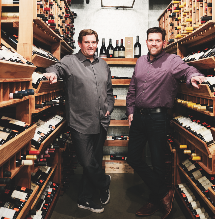 Wine House co-owner and Old World buyer Glen Knight and his brother, co-owner and New World buyer Jim Knight, have successfully modernized their father's business.