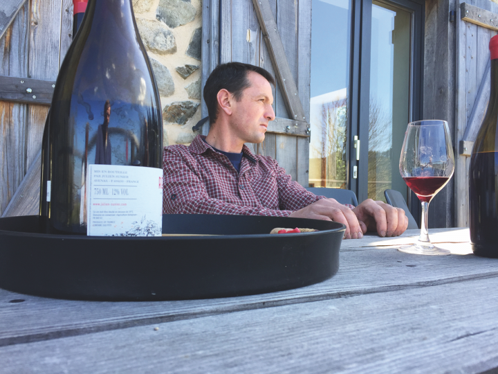 High-end Beaujolais wines, such as cru offerings from Julien Sunier (pictured), are exciting consumers and leading to increased sales.