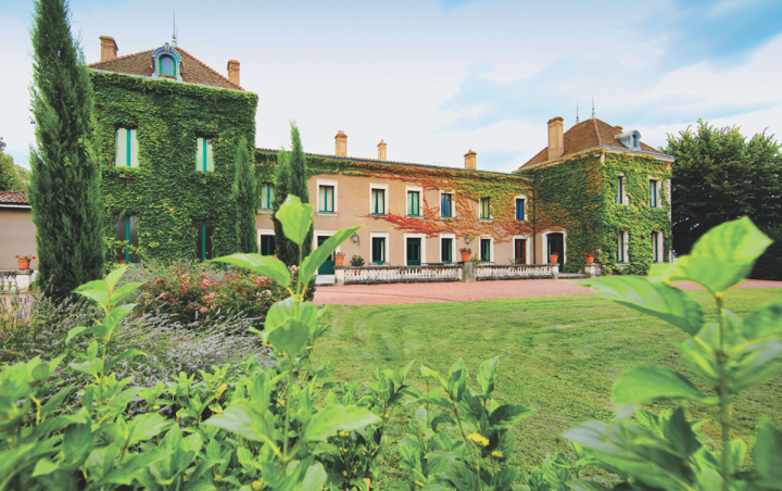 Louis Jadot's Château des Jacques (exterior above) offers upscale Beaujolais wines.