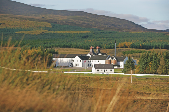Buchanan's (Diageo's Dalwhinnie Distillery pictured) was a pioneer of blended Scotch whisky.