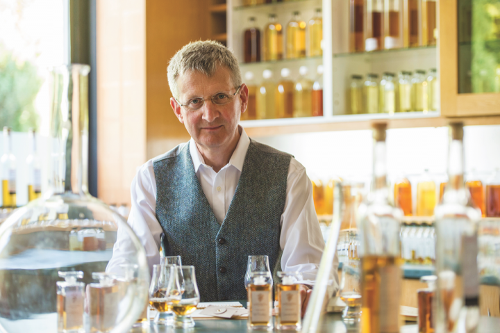 Johnnie Walker (master blender Jim Beveridge pictured) and Chivas Regal are among blended Scotch brands attempting to change public perception of the category.