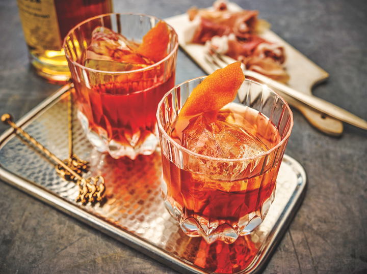 William Grant has tasked dozens of U.S. brand ambassadors with promoting the mixology advantages of non-single-malt Scotch labels like Monkey Shoulder blended malt, which mixes smoothly in a Boulevardier.