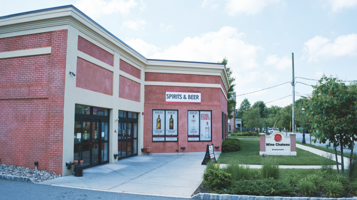 Wine Chateau has four brick-and-mortar locations across New Jersey (Metuchen unit pictured). Given the retailer's huge online presence, in-store sales account for just half of total revenue.