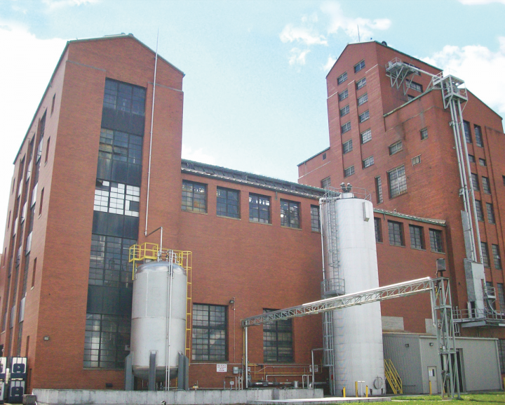 Produced at Canada's Corby Distillery (pictured), Pernod Ricard's Lot 40 brand is a blend of 90-percent rye and 10-percent malted rye. The whiskey is currently on allocation.