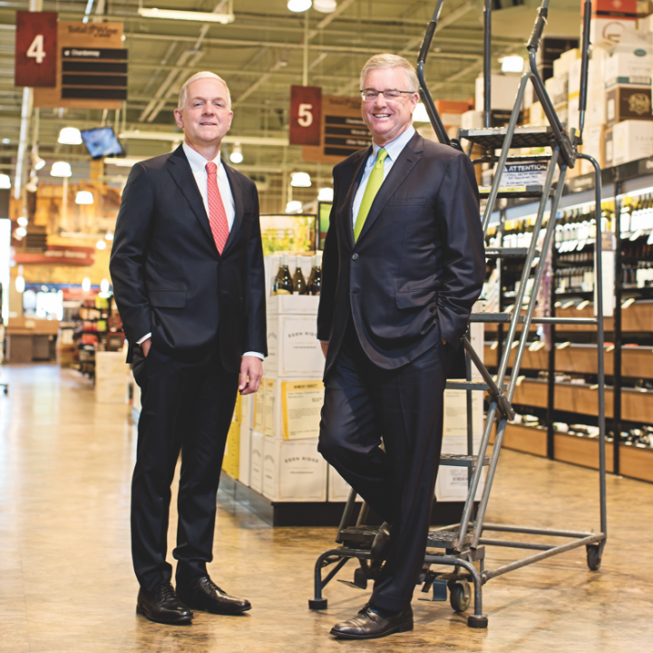 Led by co-owners Robert and David (pictured above left to right), Total Wine is experiencing the strongest growth in its history.