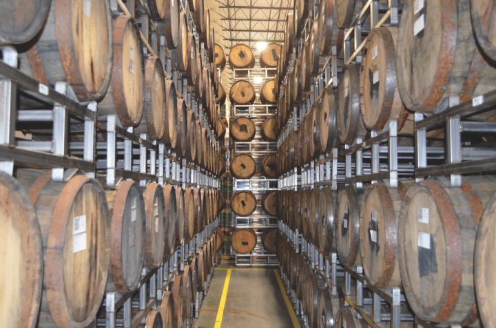 Kansas City's Boulevard Brewing Co. (barrel room above) debuted its first barrel-aged beer, Bourbon Barrel Quad, in 2008. Since then, the brewery has emerged as a leader in the barrel-aged brew category, with nine barrel-aged offerings available.