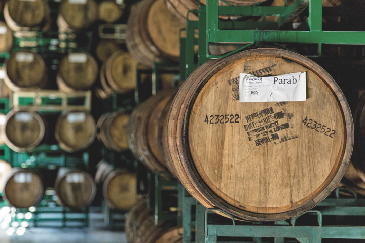 Parabola, one of Firestone Walker's new brews, was aged in Heaven Hill barrels.