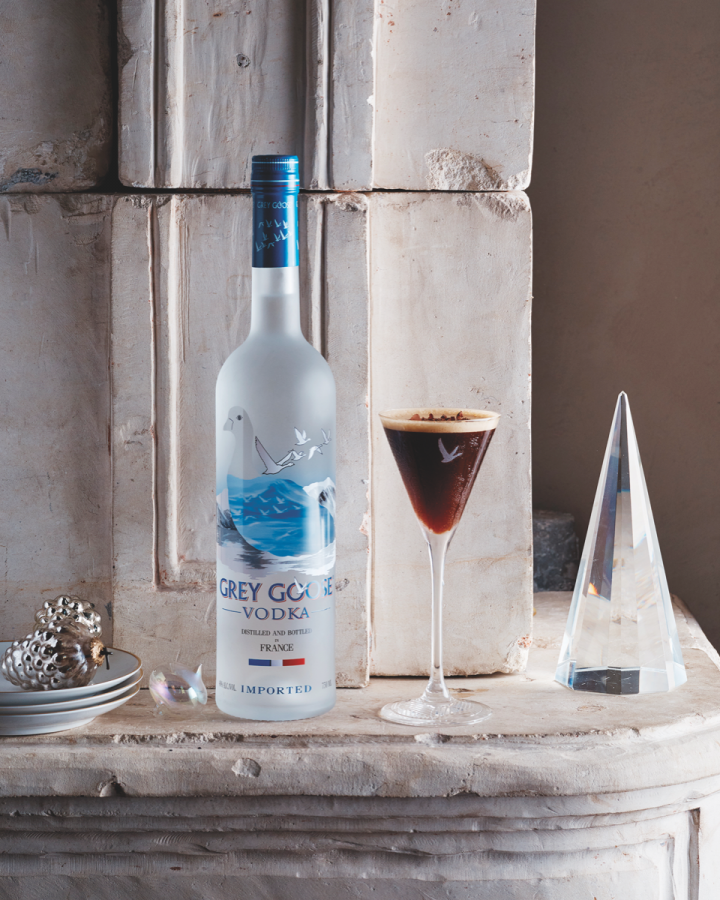 As one of the top performing imported vodka brands in the U.S., Grey Goose (holiday-focused
