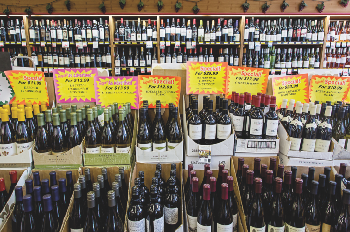 Since purchasing Magruder's four years ago, Yoon has transformed the store from a grocery-focused entity into a premier purveyor of wine (above) and spirits. Domestic wines are best-sellers at the store.