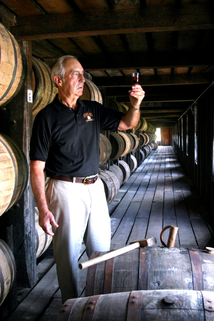 Parker Beam (pictured) was a storied figure in Bourbon country. As master distiller at Heaven Hill from 1975 to 2013, he guided the distillery through some of its most turbulent years.