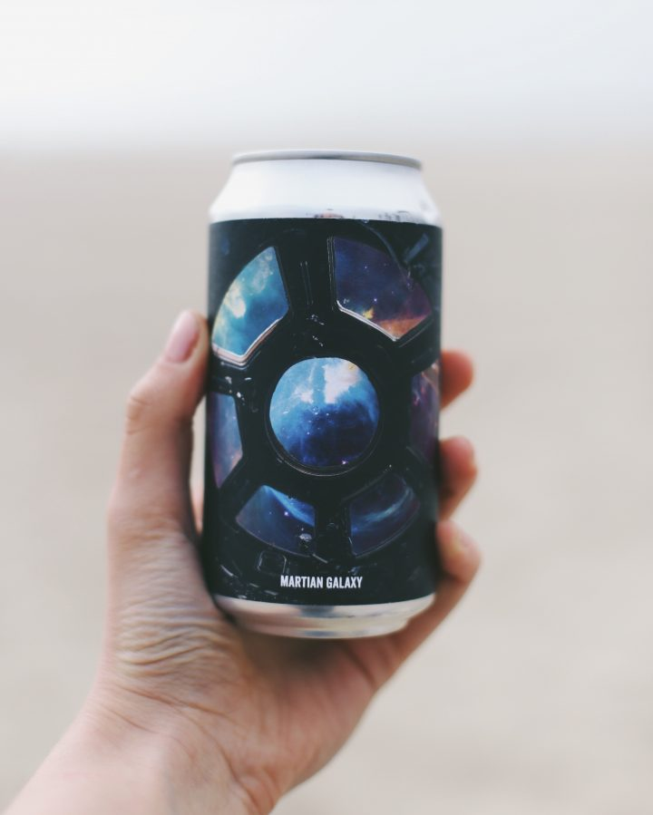 Alloy Wine Works (Martian Galaxy dry-hopped rosé pictured) has diversified the entire wine category with numerous experimental releases.