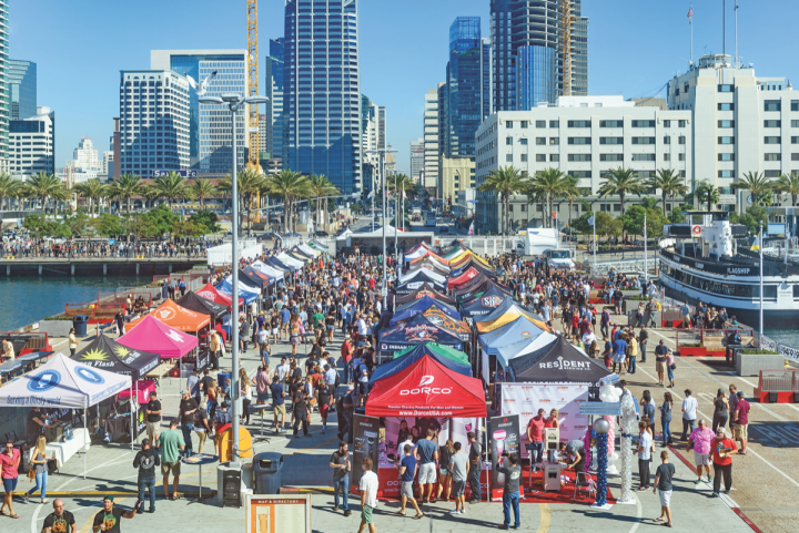The San Diego Brewers GUild has orchestered San Diego Beer Week since 2009. The event draws thousands of beer enthusiasts to the city.