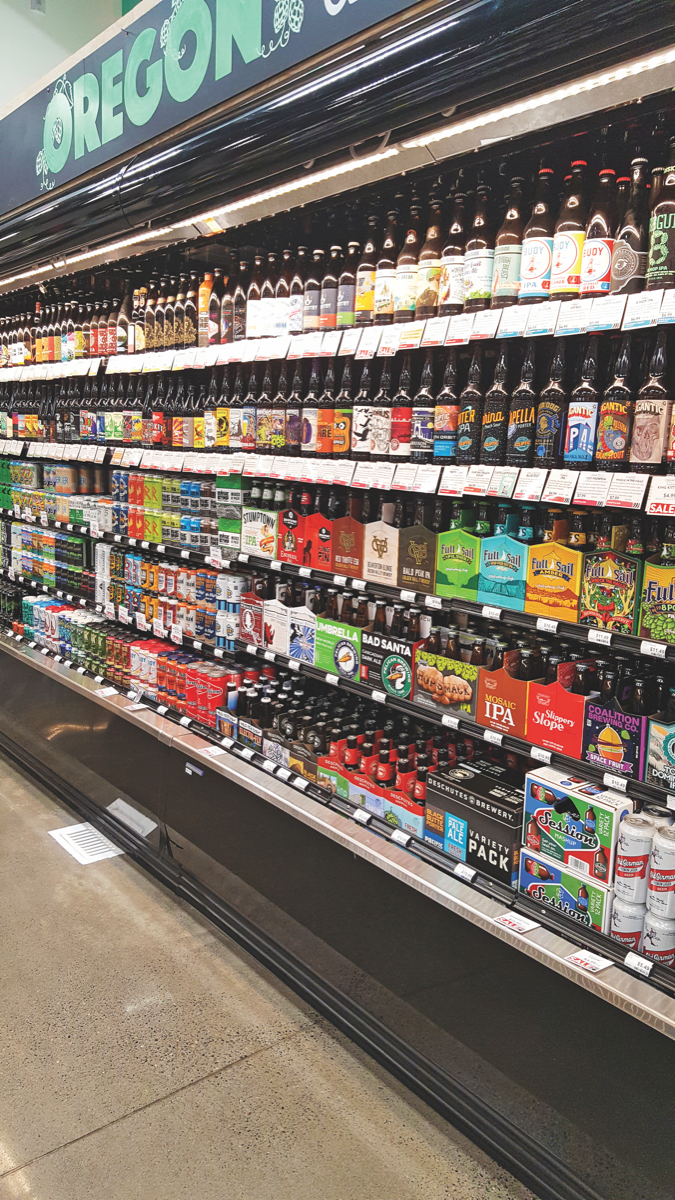 Craft beer drives sales at Portland, Oregon's Green Zebra Grocery, which stocks almost 400 beer SKUs across its three stores.