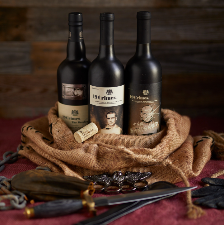 Treasury Wine Estates' 19 Crimes brand has grown to over 500,000 cases in the U.S., bolstered by its focus on storytelling.