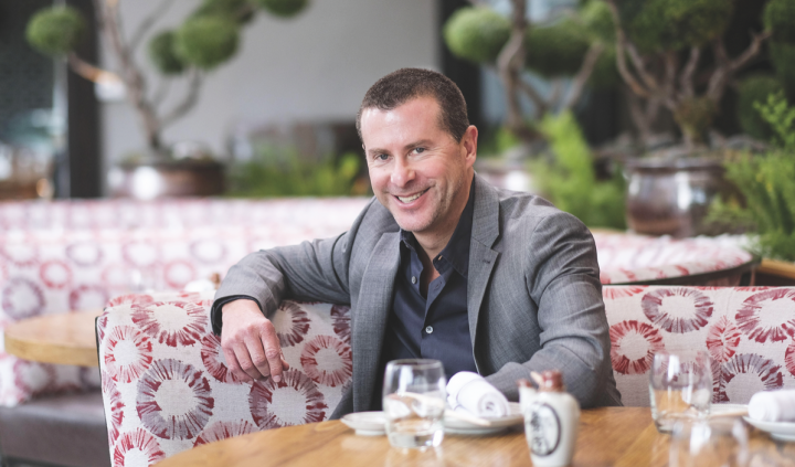 Innovative Dining Group founding partner Lee Maen focuses primarily on developing ambiance, design, and energy in each of the company's restaurants.