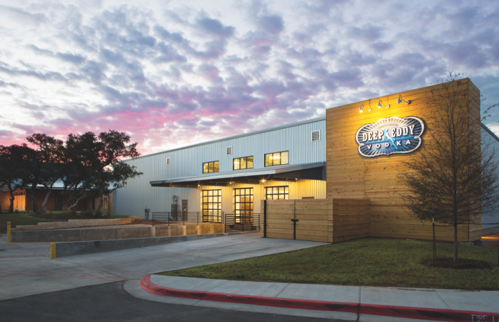 Texas-based Deep Eddy (Dripping Springs facility pictured) is among the fastest-growing vodka brands in the U.S., posting consistent year-over-year growth.