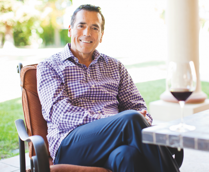 Guarachi Wine Partners' Tenshen (founder and winemaker Alex Guarachi above) red blend has depleted 16,000 cases since its debut.
