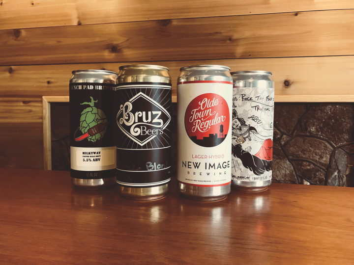 Denver's Craft Alley beer shop exclusively sells crowlers from local breweries. The aluminum counterpart to glass growlers has taken hold as a more convenient and sustainable packaging.