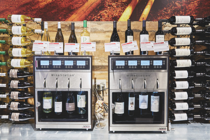Fisch opened his newest Gary's unit in Closter, New Jersey in December 2017. The store features a NapaTech Wine Station (pictured), which keeps open bottles of wine fresh, enabling customers to sample them prior to purchasing.