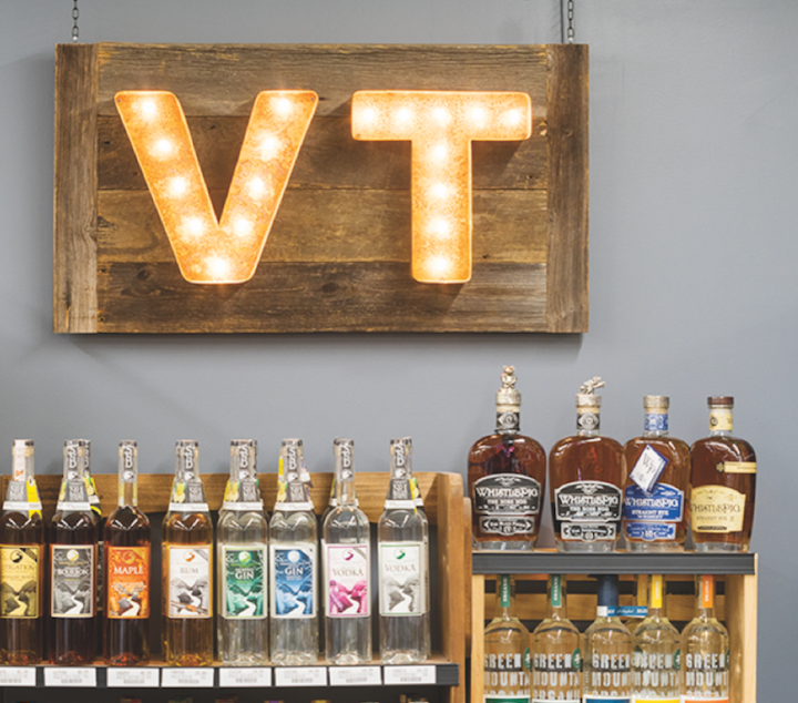 Beverage Warehouse carries more Vermont-made spirits, beer, wine, and cider brands than any other retailer in the state, according to wine and beer manager Jason Dennis.