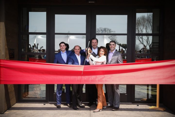 Lux Row Distillers' Lux family and executive team members commemorated the grand opening of the company's new Bardstown, Kentucky-based distillery with a ribbon-cutting ceremony on April 12.