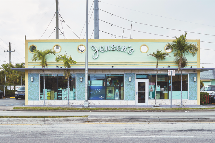Once a single-store operation, Miami-based Jensen's (flagship SW 27th Avenue store exterior pictured) now has five locations throughout the city. Elements of the local neighborhood are incorporated into the design of each store, making every location aesthetically unique.